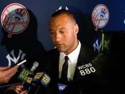 Yankees' Derek Jeter is a veteran at dealing with the media.