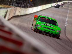 Danica Patrick bounced back from a DNF at Fontana to finish eighth on Friday in the Nationwide Series race at Texas.