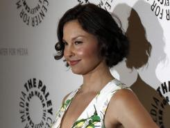 "Ashley Judd, shown at a preview screening for an upcoming episode of the ABC television series ""Missing"" in Beverly Hills, was vigorously defended by husband and IndyCar champion Dario Franchitti on Friday."