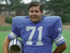 DT Alex Karras played for the Lions from 1958-70.