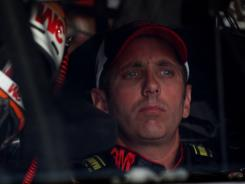 Greg Biffle opened the season with three third-place finishes in a row and has a six-point lead over Dale Earnhardt Jr. in the Sprint Cup standings.