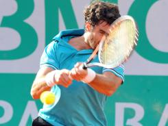 Pablo Andujar was all racket in beating Italy's Flavio Cipolla in the Casablanca semifinals to set up a title round against fellow Spaniard Albert Ramos.
