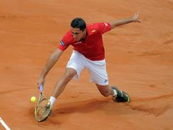 Nicolas Almagro of Spain has 11 career ATP titles, all of them on clay.