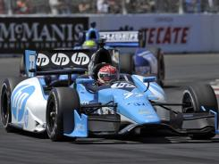 Simon Pagenaud, who finished second at Sunday' sLong Beach Grand Prix in a Honda, was the only non-Chevrolet driver to finish in the top 7.