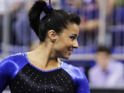 Marissa King, defending national champion in the vault, is part of a Florida team that enters this weekend's nationals as the top seed.