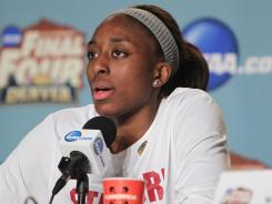 The Los Angeles Sparks made Stanford Cardinal forward Nnemkadi Ogwumike the No. 1 overall pick in the WNBA Draft on Monday.