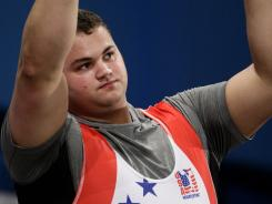 Weightlifter Pat Mendes became the first American in an Olympic sport to test positive for HGH and be disciplined for it.