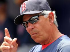 Red Sox manager Bobby Valentine is moving past comments he made about Kevin Youkilis.