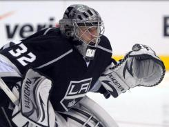 Los Angeles Kings goalie Jonathan Quick was the shutout leader of the regular season.