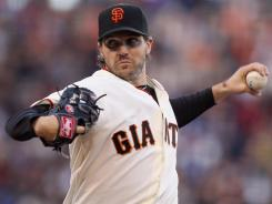Giants' Barry Zito is 1-0 after two starts this season.