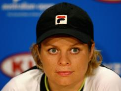 Kim Clijsters of Belgium, still rehabbing a hip injury, will skip the clay season.