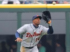 Detroit Tigers center fielder Austin Jackson is seeing the ball better at the plate this season, improving his strikeout-to-walk ratio significantly.