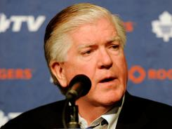 Brian Burke once held Brendan Shanahan's job and praised his work.