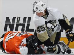Pittsburgh's Arron Asham is one of the eight players who have suspended this postseason.