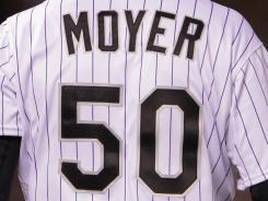 Colorado Rockies pitcher Jamie Moyer.