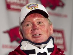 Former Arkansas football coach Bobby Petrino detailed the history and extent of his relationship with his mistress to athletic director Jeff Long on Thursday.