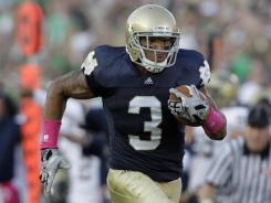 Notre Dame WR Michael Floyd seems to be rising up draft boards.