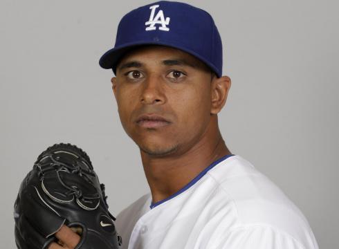 Dodgers AAA pitcher <b>Angel Guzman</b> has been suspended 50 games for violating <b>...</b> - Dodgers-P-Angel-Guzman-suspended-50-games-461BJL55-x-large