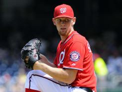 Washington's Stephen Strasburg lowered his ERA to 1.08 after six shutout innings against Miami on Saturday.