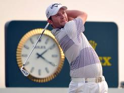 Branden Grace of South Africa wins the Volvo China Open on Sunday in Tianjin, China.