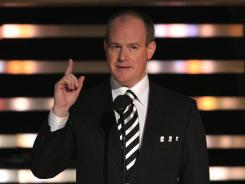 NFL Network's Rich Eisen, here during the inaugural NFL Honors show in February, is planning to be on-air for every draft pick in the 23-hour marathon.