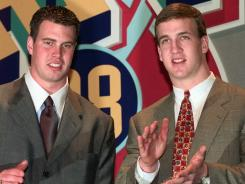Fourteen years after the 1998 draft, Peyton Manning is still playing and Ryan Leaf is in prison.