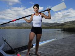 Natalie Dell is trying to qualify for her first Olympics. She has been training in both sweep and sculling boats.