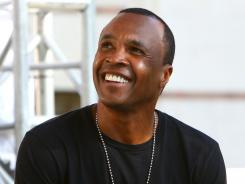 Hall of Fame boxer Sugar Ray Leonard says he took up golf in the early 90s and now plays with about a 14 handicap.