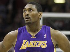 Metta World Peace (formerly Ron Artest) is awaiting what could be a lengthy suspension after elbowing the Oklahoma City Thunder's James Harden.