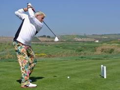 John Daly, teeing off in the Sicilian Open in March, received a late invitation to play in the Zurich Classic.