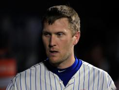 Mets left fielder Jason Bay landed on the 15-day disabled list Tuesday, after breaking a rib in his left side while trying to make a diving catch in Monday's game against the Giants.