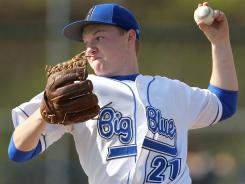 Hamilton, Ohio pitcher Kyle Cotcamp is back on a mound a year after having Tommy John surgery.