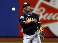 Marlins shortstop Jose Reyes, who spent the first nine years of his career with the Mets, made his first return to Citi Field as a member of an opposing team on Tuesday.