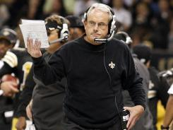 Saints interim head coach Joe Vitt will call most of the shots for the team in 2012.