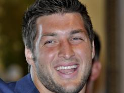 Tim Tebow was second on Forbes' list of most influential athletes.