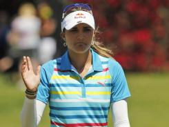 Lexi Thompson, shown here at the Kraft Nabisco Championship, was in contention to win last year at the Mobile Bay LPGA Classic. She's in the field again this year.
