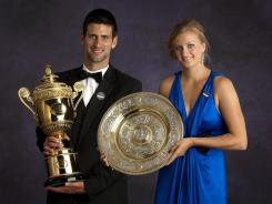 Defending champs Novak Djokovic of Serbia and Petra Kvitova of the Czech Republic will have more money to play for this year at Wimbledon.