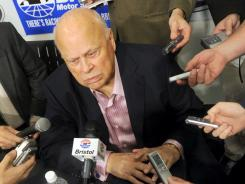 Speedway Motorsports Inc. Chairman Bruton Smith fields questions about the changes he's implementing to Bristol Motor Speedway.