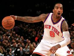 J.R. Smith scored 21 points off the bench to lead the Knicks to their eighth win in 11 games.
