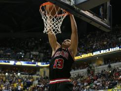 Joakim Noah had 14 points and 14 rebounds to help the Bulls to their sixth win in eight games.