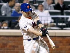 David Wright hits a two-run home run in the sixth inning, giving him 735 career RBI and breaking a tie with Darryl Strawberry for the Mets' all-time record.