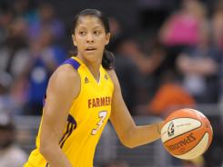 In 2008, Candace Parker became the first player in WNBA history to earn MVP and rookie of the year honors in the same season.