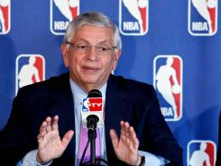 "NBA Commissioner David Stern said the seven-game suspension of Los Angeles Lakers forward Metta World Peace was ""about the right number."""