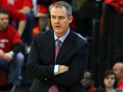 Stony Brook redacted many of the details in the contract of basketball coach Steve Pikiell