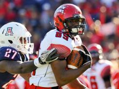 Tight end Ladarius Green had 51 catches and eight touchdowns for Louisiana-Lafayette last season.
