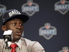 Morris Claiborne didn't believe when Jerry Jones called to say the Cowboys had drafted him.
