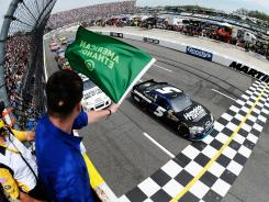Green-flag racing has been the theme of the 2012 Spritn Cup season, with four of the eight races seeing at least 100 laps of consecutive action.