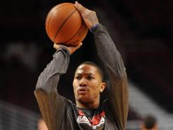 The health of Chicago Bulls guard Derrick Rose will be the X factor for the team throughout the NBA playoffs.