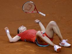 Germany's Andrea Petkovic will miss three months after injurying her ankle during the second set of her match against Victoria Azarenka at the Porsche Tennis Grand Prix.