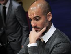 Barcelona's coach Josep Guardiola is leaving the club, ending a four-year reign over one of the greatest eras in club soccer.